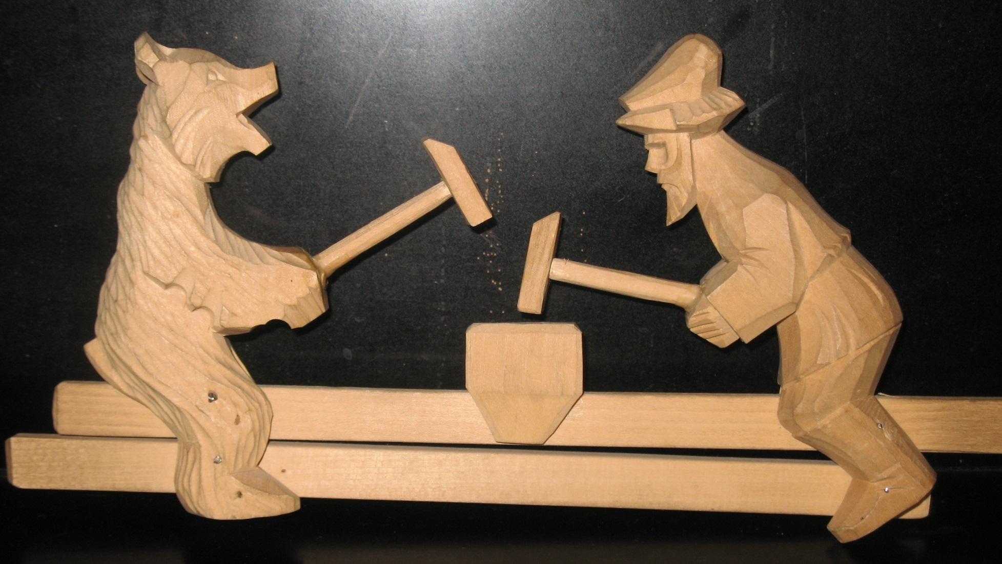 Богородская игрушка как сделать своими руками6