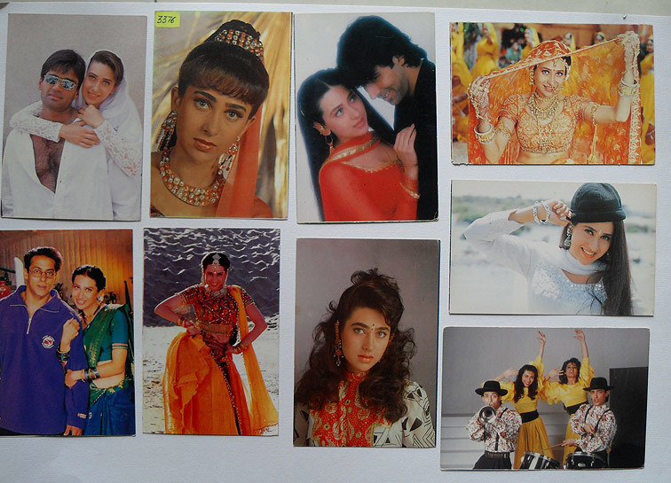 Индийские открытки с актерами 32