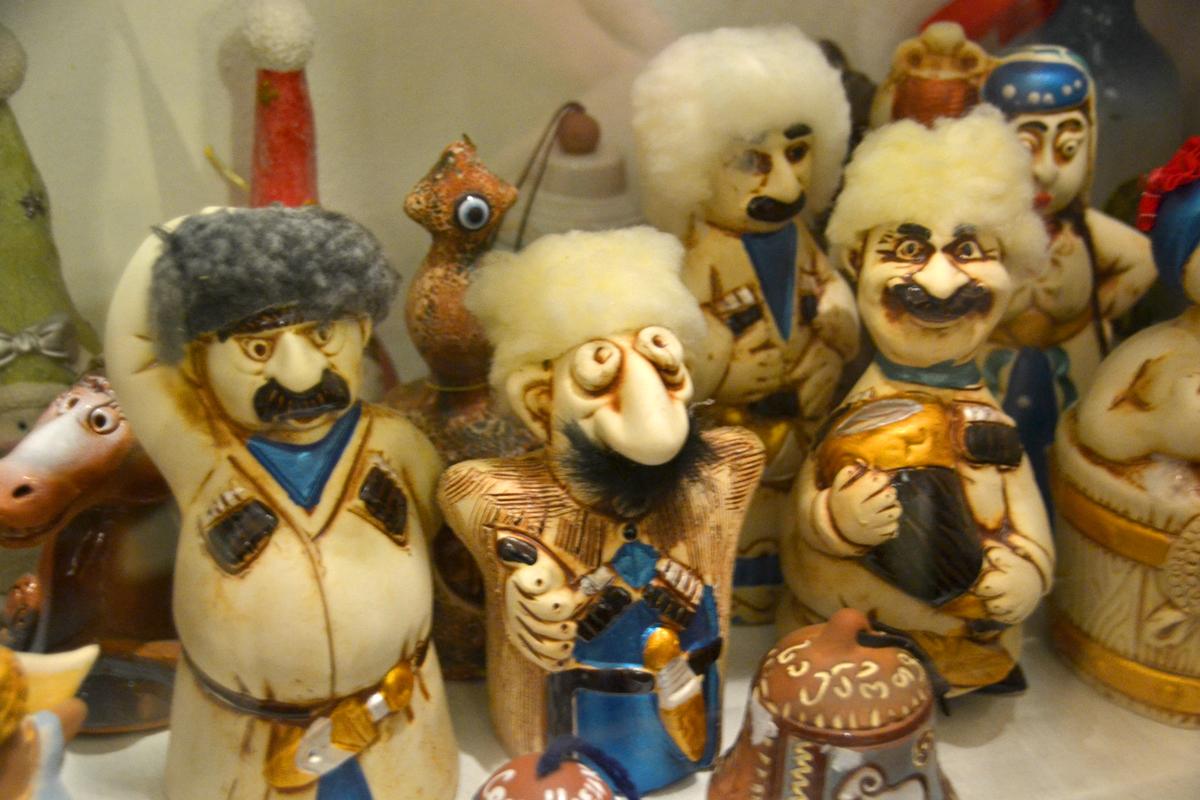 10. Вот такая колокольная семья грузин.